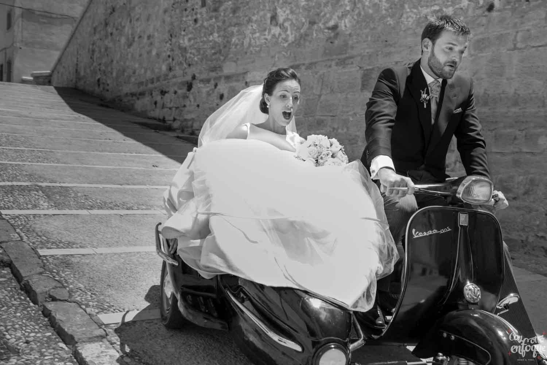 fotógrafos de boda siempre preparados
