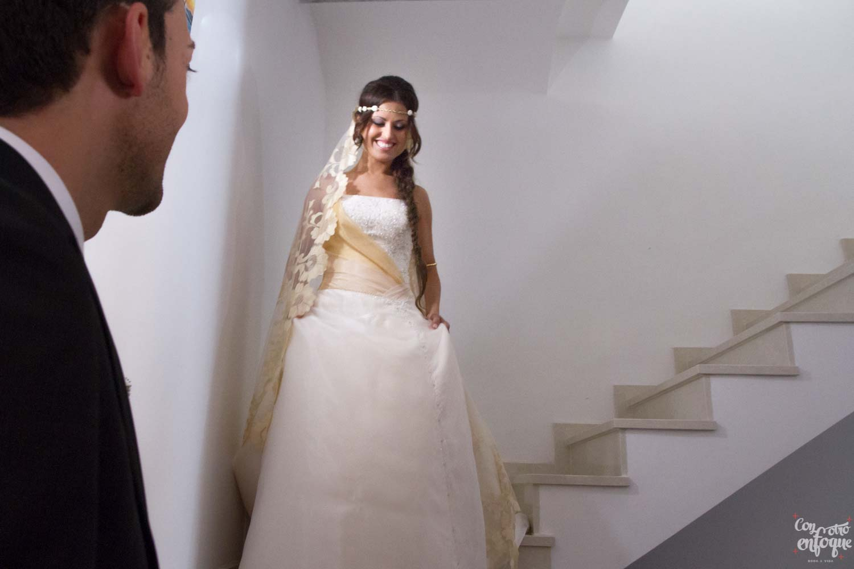 fotógrafos de boda en Valencia. First look wedding. wedding in spain