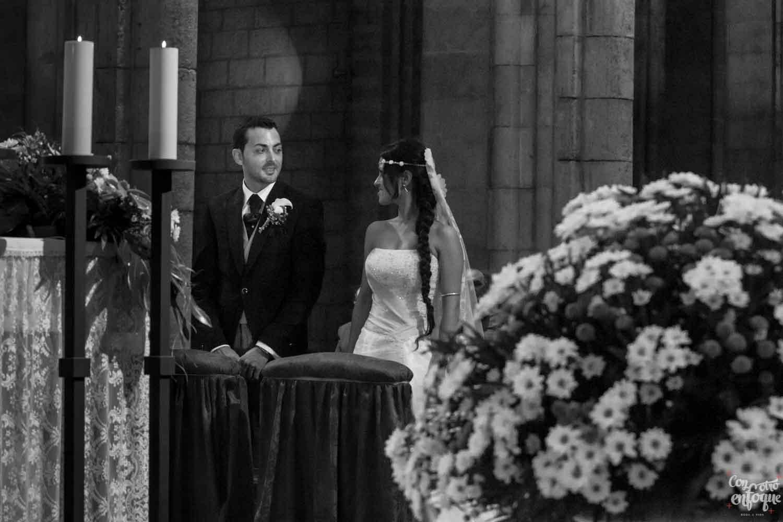 fotógrafo para la boda religiosa en iglesia Santa Catalina