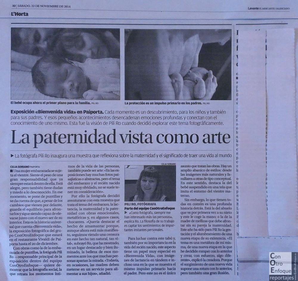 artículo-prensa-Levante-Mercantil valenciano-periódico-crítica-exposición-Valencia