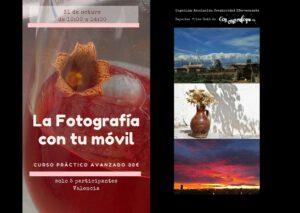 201017 curso Fotografía con móvil en Valencia en sábado octubre evento Avanzado
