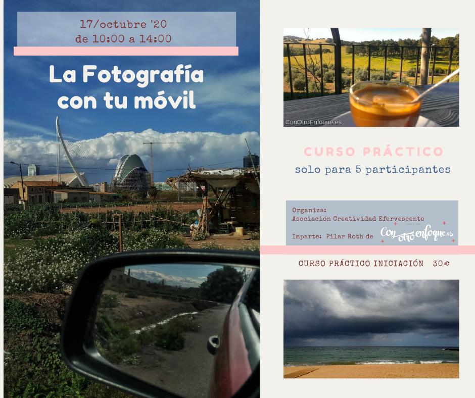 curso de Fotografía con el móvil en Valencia