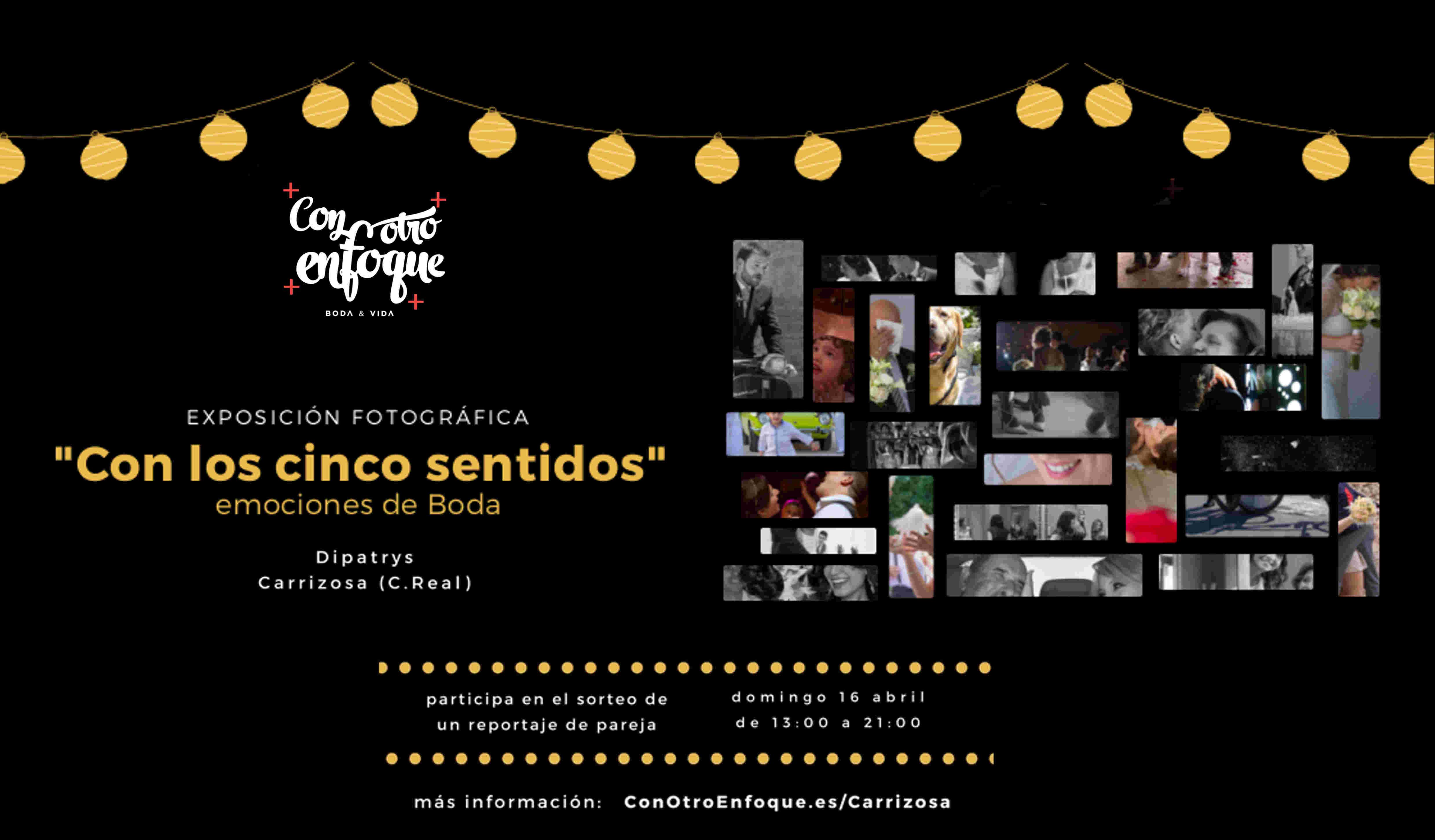 exposición fotografías de boda en Carrizosa, Ciudad Real