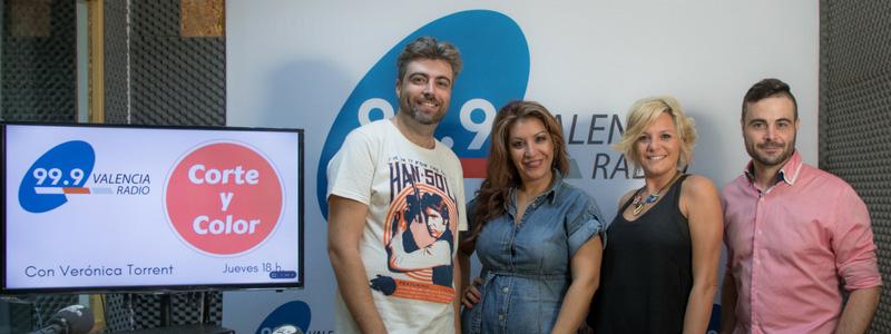la-fotografía-de-boda-entrevista-corte-y-color-con-Verónica-Torrent-en Valencia Radio