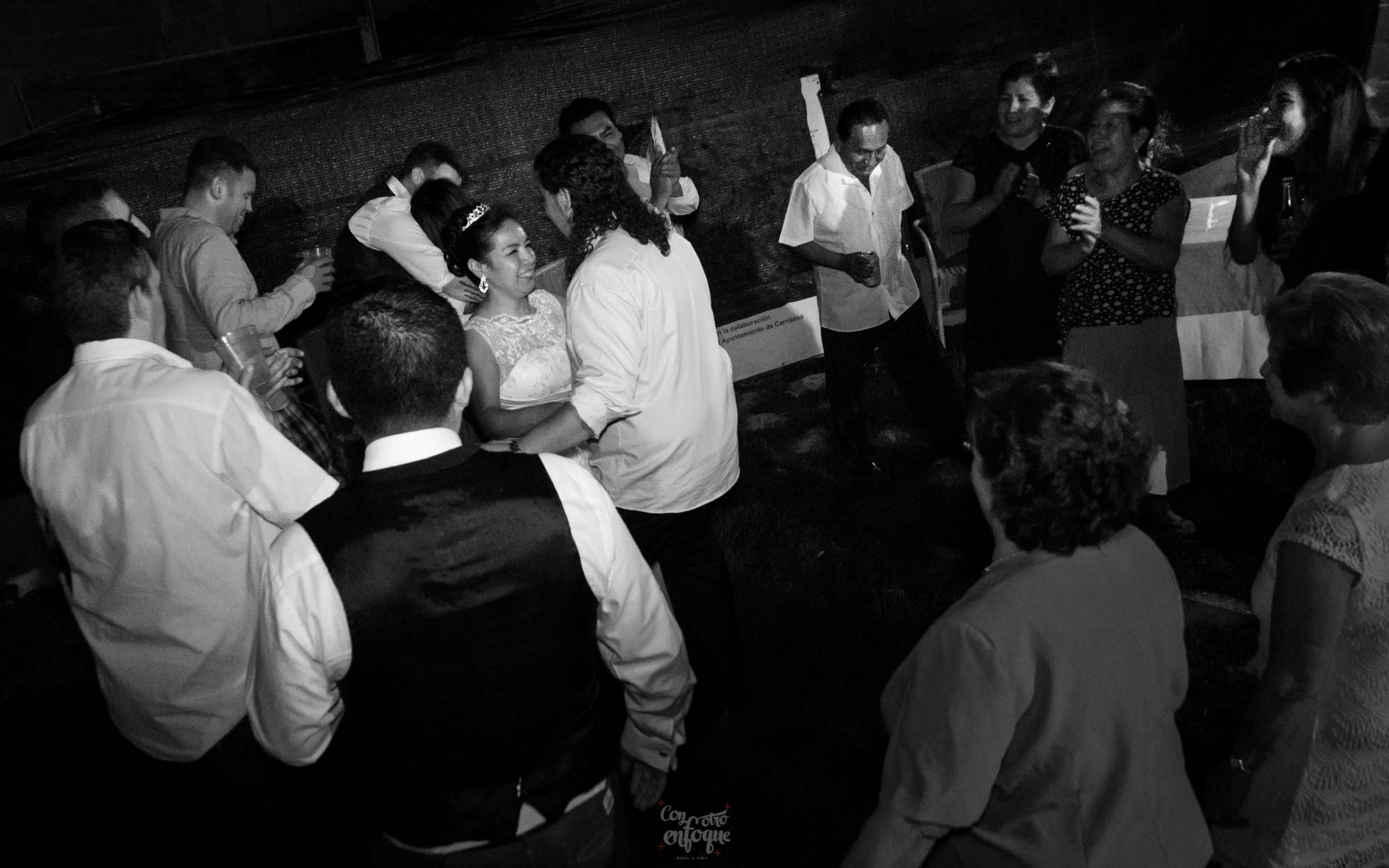 baile boda civil en Carrizosa