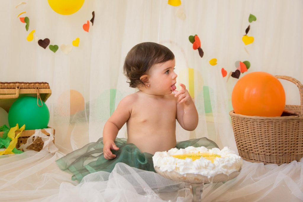 tarta para Smash Cake en Valencia