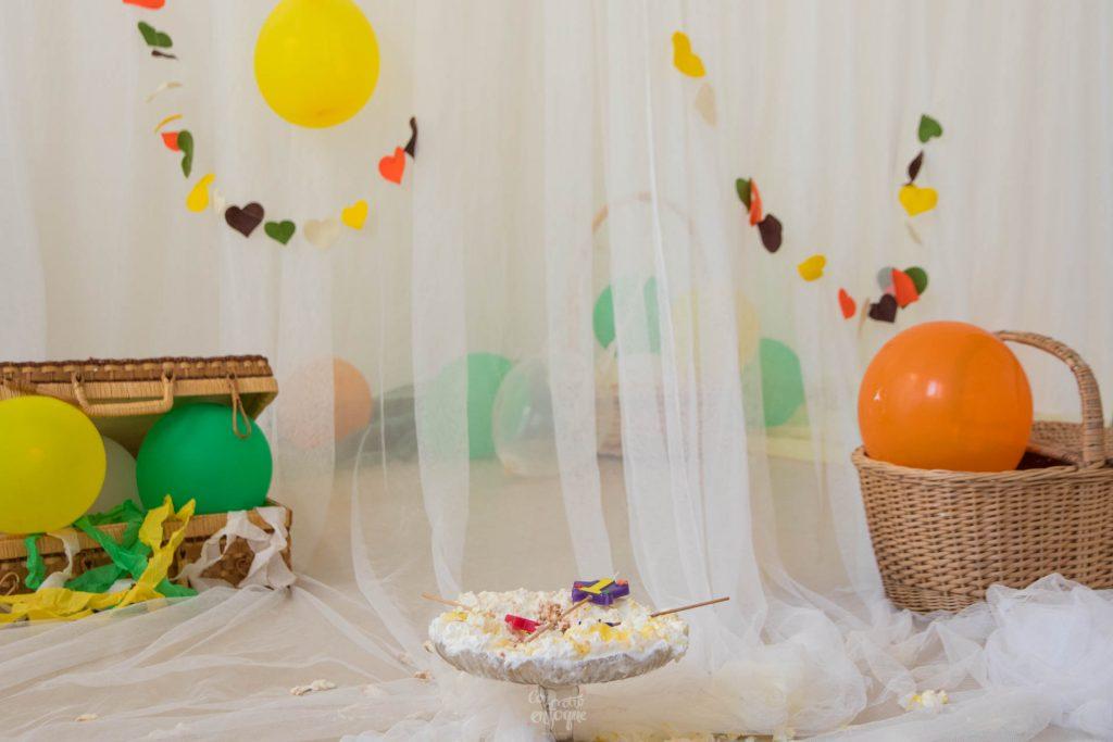 decorado para Smash Cake en Valencia
