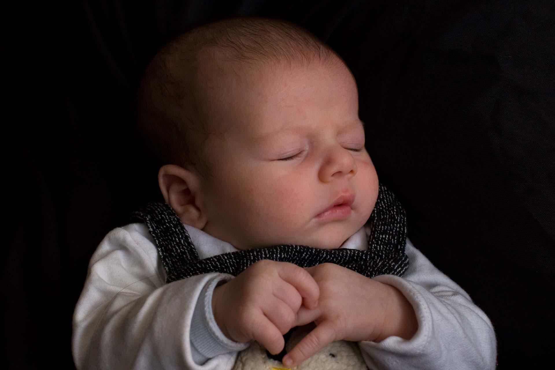 Leo es un bebé. Fotografías en Valencia
