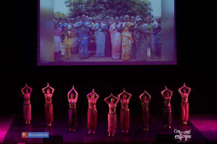 ballet fusion bollybood para Gala solidaria