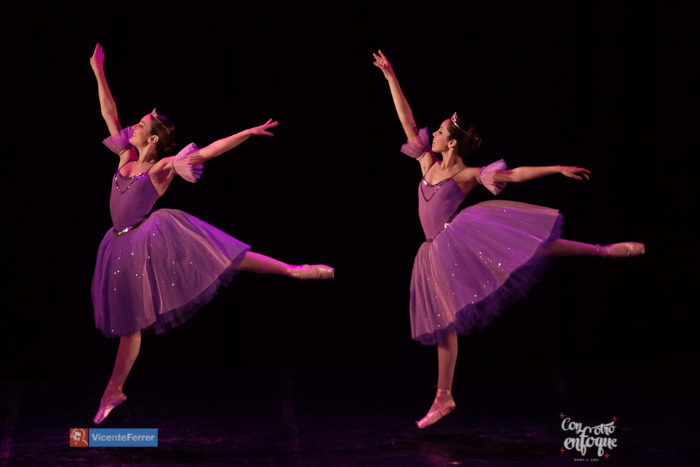 duo de ballet para Gala solidaria