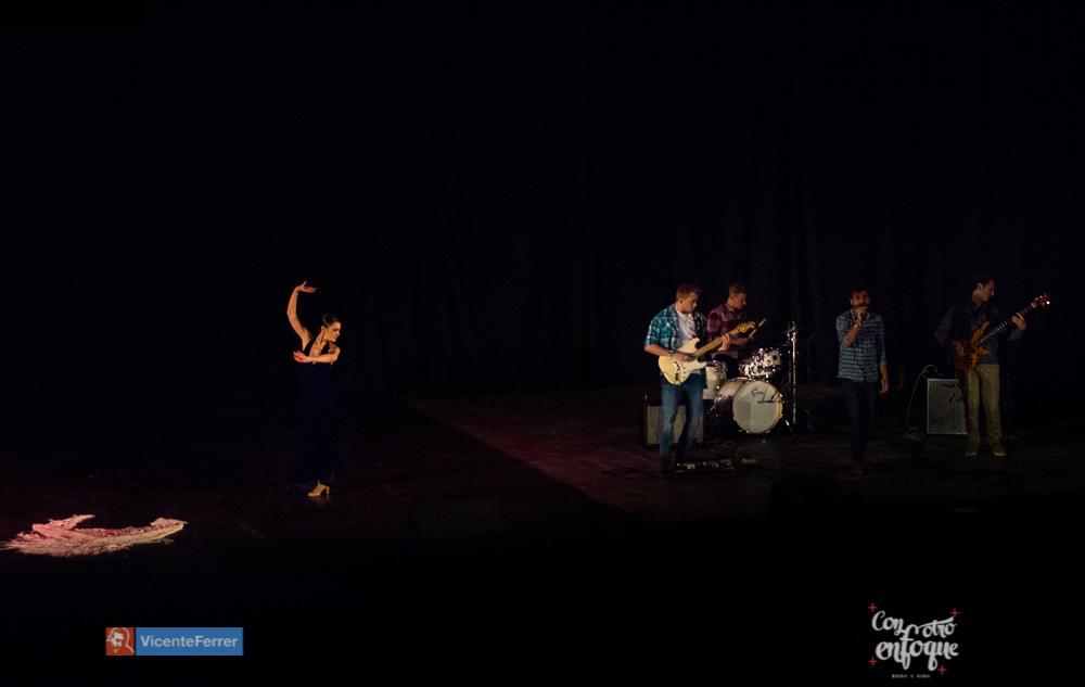 gala solidaria flamenco fusión música india