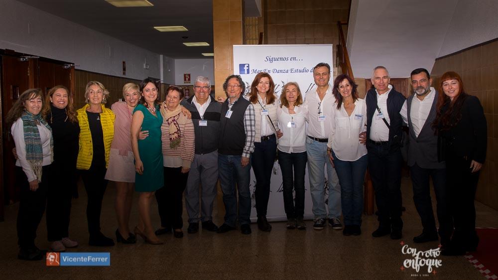 voluntariado fundación Vicente Ferrer en gala solidaria