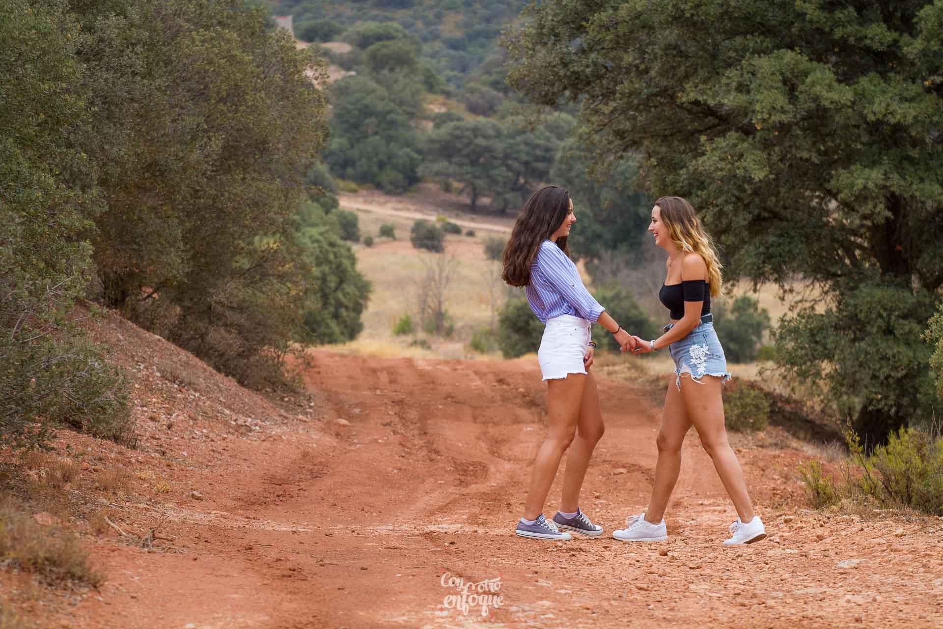 sesión de fotos por los caminos de La Mancha