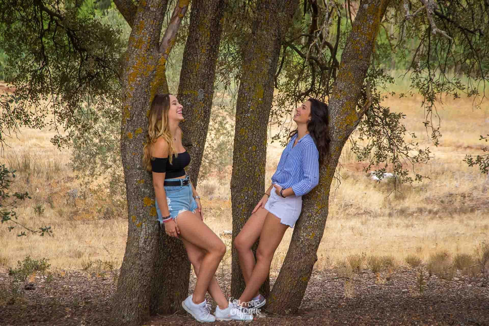 sesión de fotos en la naturaleza de La Carrasca Villahermosa