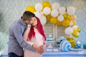 babyshower fiesta embarazada con familia y amistades en Valencia
