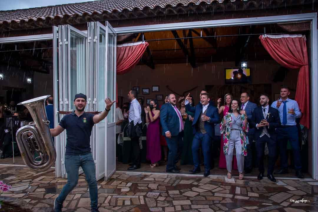 boda en el Paseo de Villanueva de los Infantes